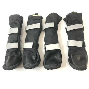 Pack of 4 Waterproof Winter Boots for Dogs Sz S